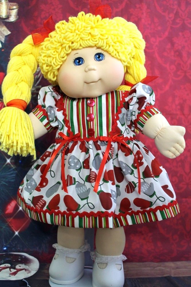 Cabbage Patch Christmas Outfit Fits 20 Tru Ble Doll Unbranded Cabbage Patch Kids Cabbage Patch Dolls Cabbage Patch