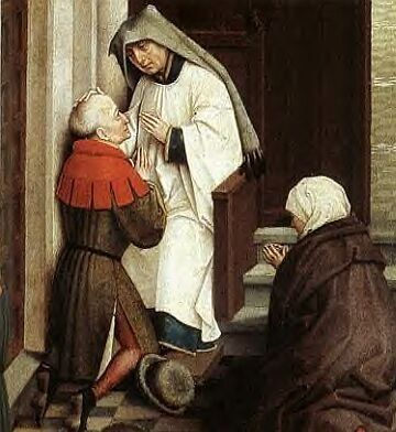 The Sacrament of Penance - Confession.  A very good Examination of Conscience: http://www.beginningcatholic.com/catholic-examination-of-conscience.html
