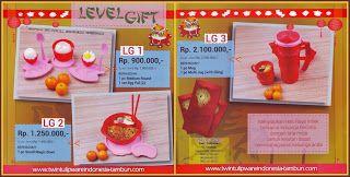 Level Gift Tulipware Januari - Februari 2014