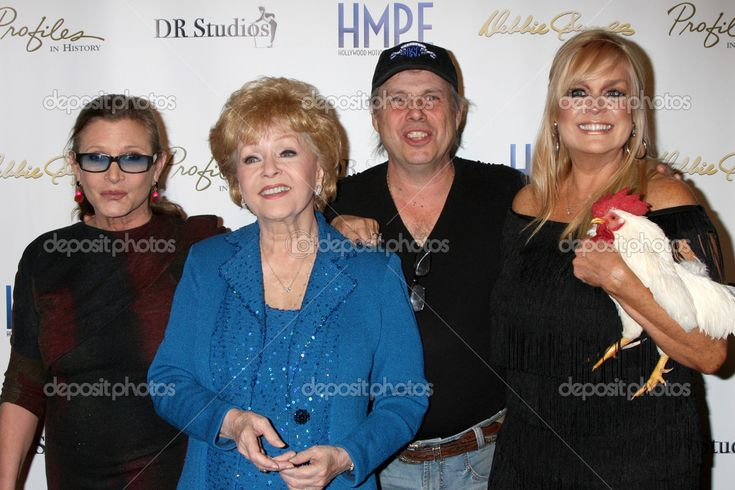 Carrie Fisher, Debbie Reynolds, Todd Fisher, Catherine Hickland ...