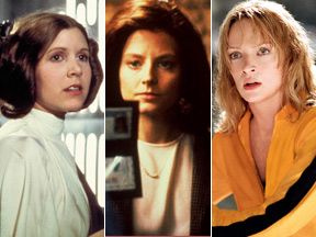 """50 greatest female movie characters"" by AMC"
