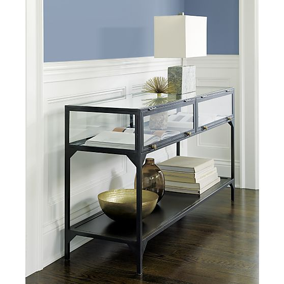 Ventana Console Table Crate And Barrel Entryways