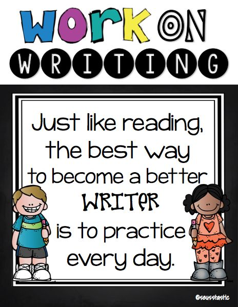 Daily Five Anchor Charts