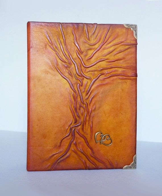 Leather Photo Album Wedding Gift Anniversary by AnnaKisArt on Etsy #weddingalbum, #anniversary, #leatheralbum, #photoalbum, #handmadealbum, #leathergift, #leatherphotoalbum, #artalbum, #rusticalbum, #treealbum, #huntersgift, #travelgift, #treeart, #leathergift,