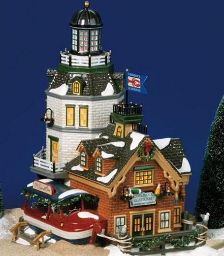 Candlerock Lighthouse Restaurant, Snow Village  (#0332)