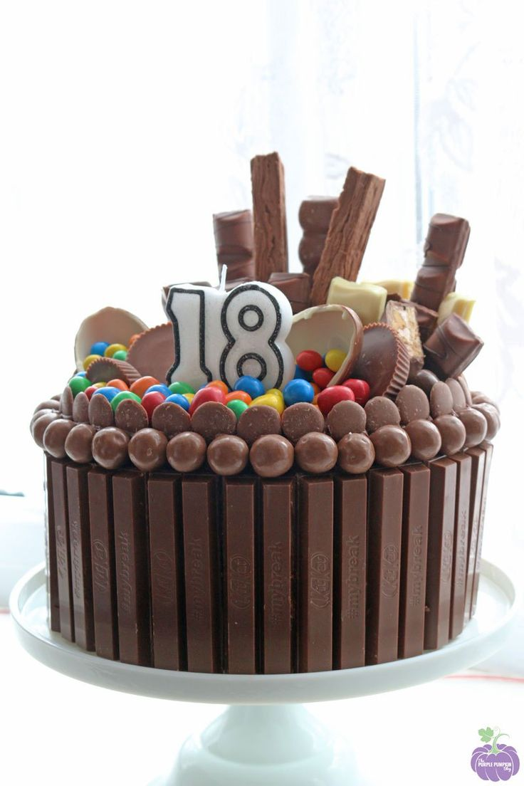 Chocolate Explosion Cake - again I'd probably make the cake and icing myself, but I love the easy and impressive decoration!