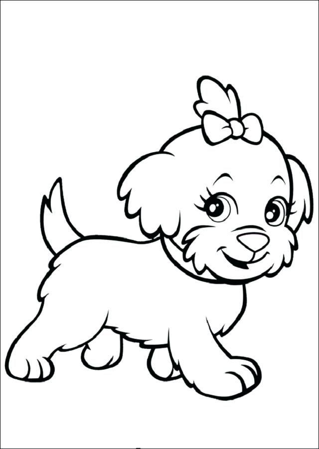 Pagina Para Colorear De Perro Para Dibujos Para Pintar De