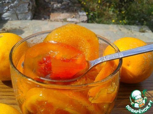 Варенье из трех цитрусовых - кулинарный рецепт
