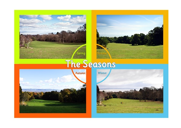 4 Seasons Poster | Free Resources for Early Learning