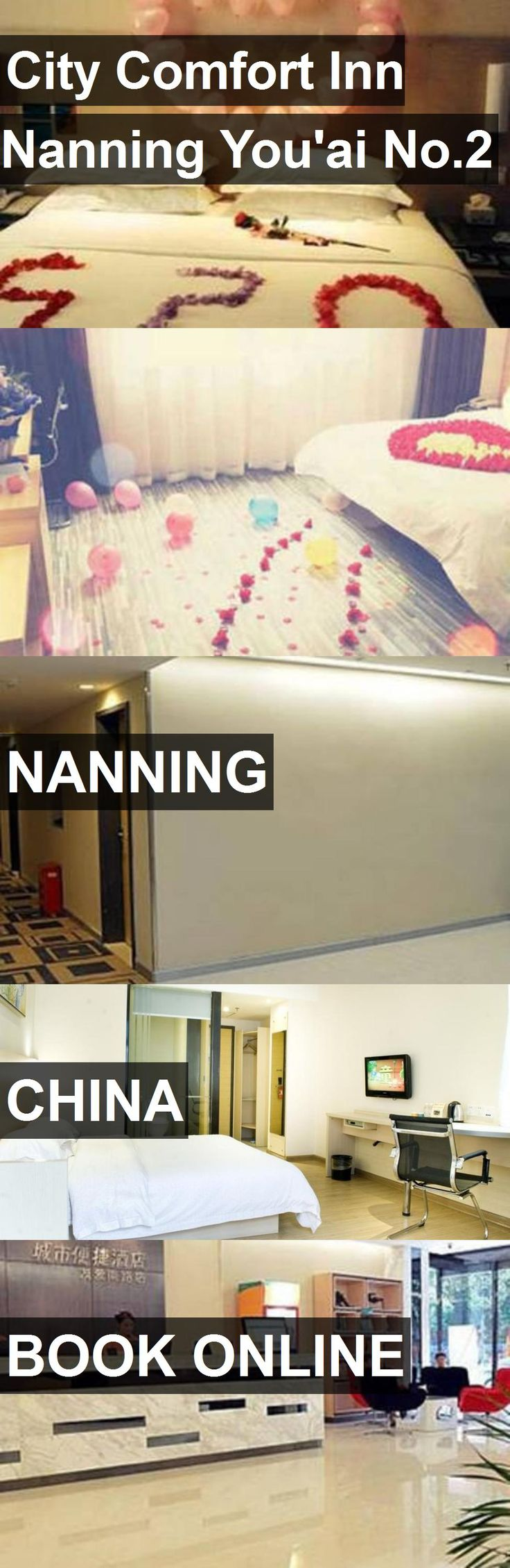 Hotel City Comfort Inn Nanning You'ai No.2 in Nanning, China. For more information, photos, reviews and best prices please follow the link. #China #Nanning #travel #vacation #hotel