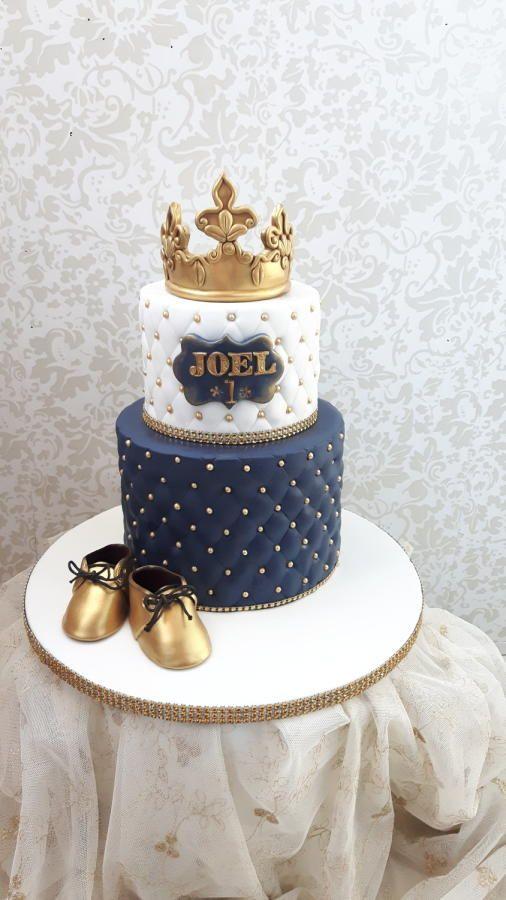 Prinse Joel one birthday cakes by nebibe