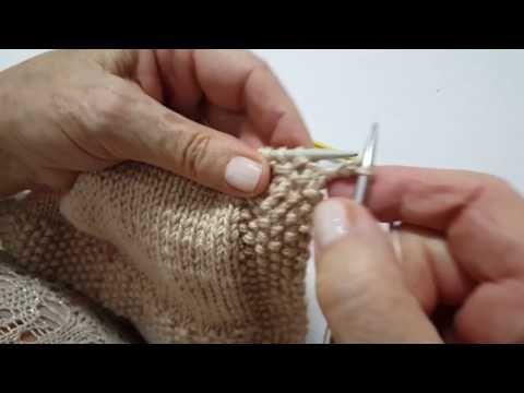 Tutorial para hacer una chaqueta con líneas en el canesú - YouTube