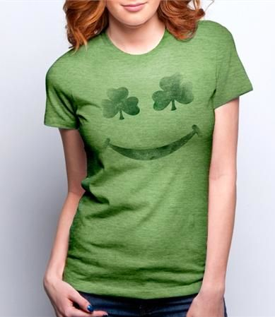Another idea of a stencil to use to make St Patrick Day tshirts during Spring Break with the Grand Girls