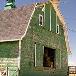 This ole barn could use a paint job...