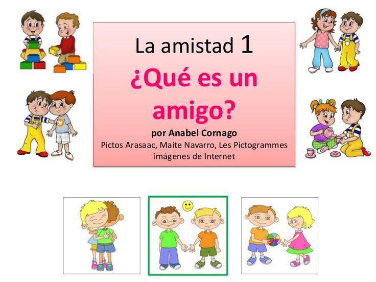 Qu es un amigo by anabel cornago via slideshare for Que es un vivero frutal