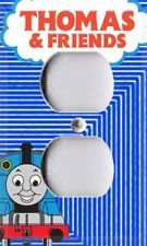 Thomas The Tank Engine Train Single Outlet Cover Kids Room Decor