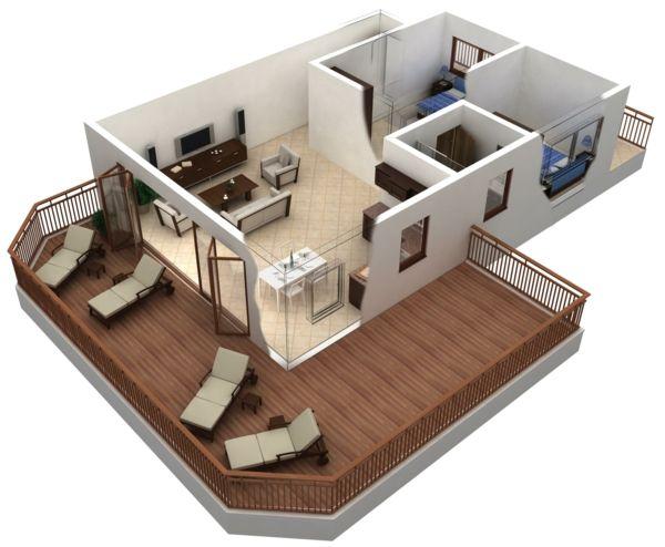 Raumplaner Kostenlose 3 Raumplaner Raumplaner Wohnungsgrundrisse Schlafzimmer Grundrisse