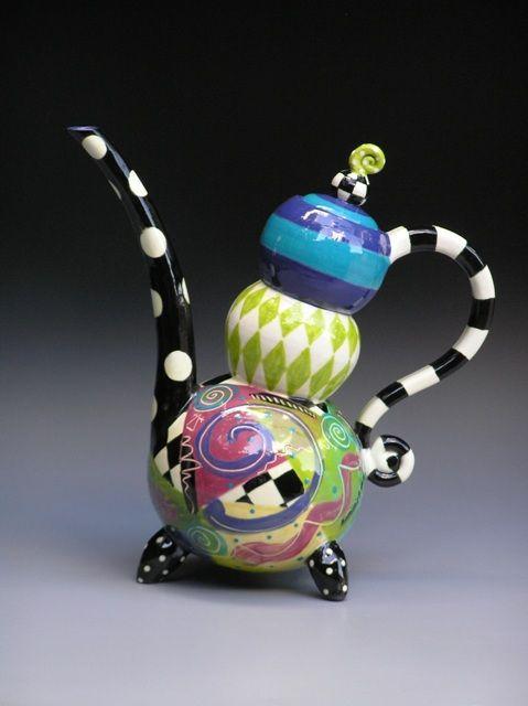 185 Best Images About Ceramic Teapots On Pinterest