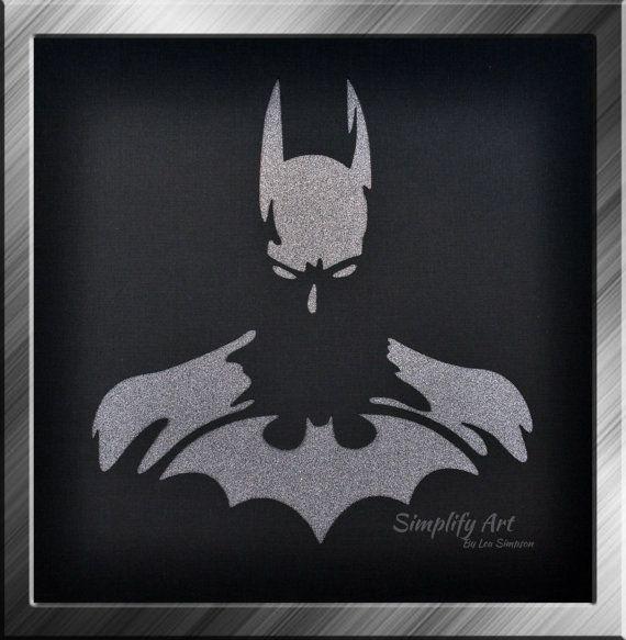25+ bsta Batman wall art iderna p Pinterest   Batman ...