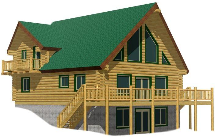 Ironwood cheap log cabin kits prices