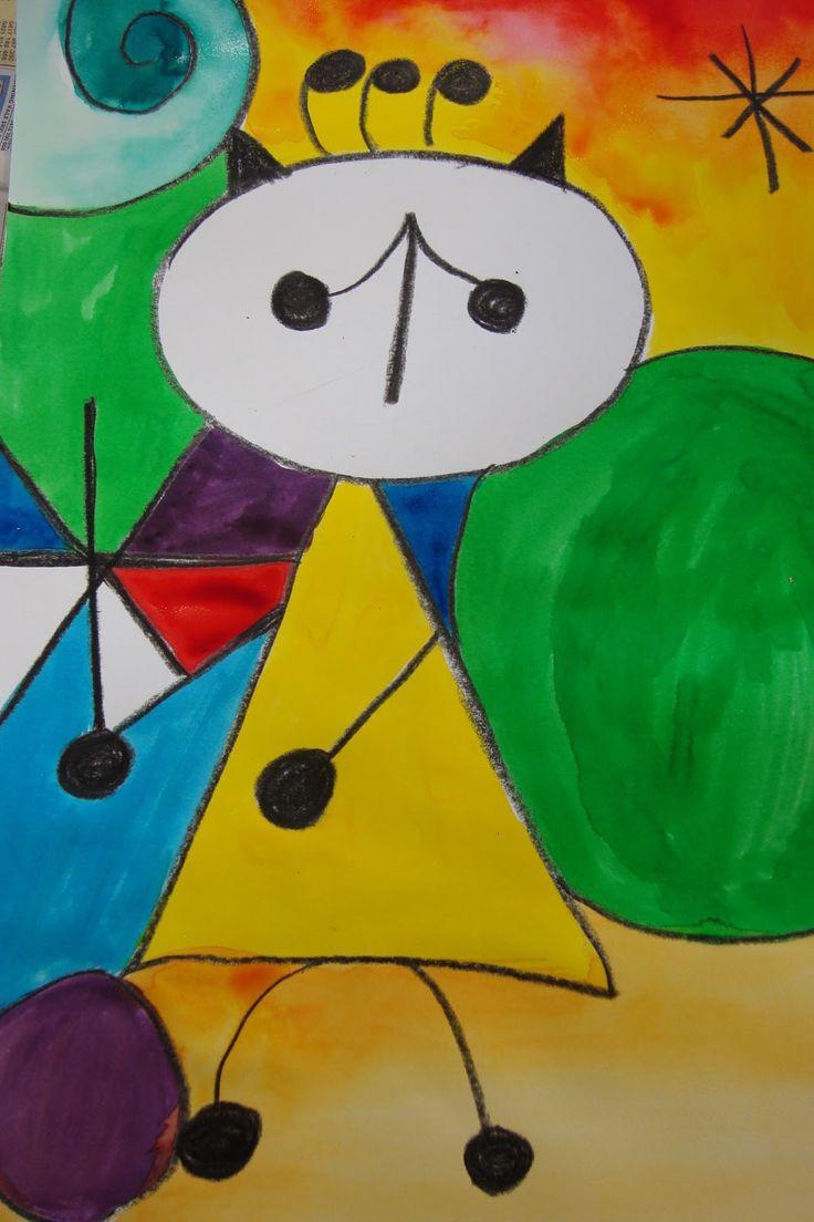 Al estilo de Miró