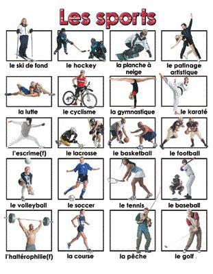 """Vocabulaire exercices en ligne : """"Les sports"""" http://fle-vacances.wikispaces.com/1.07+Les+Sports Rubriques : ... - Vocabulaire - Vocabulaire illustré - Les activités - Sports d'hiver-Mots croisés - Le football - Plusieurs fiches - Faites de phrases - Beaucoup des fiches pour réviser le vocabulaire des sportsVer más"""