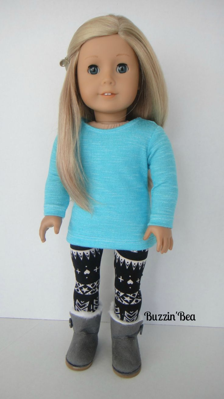 Aqua Tribe American Girl Doll Clothes by BuzzinBea on Etsy