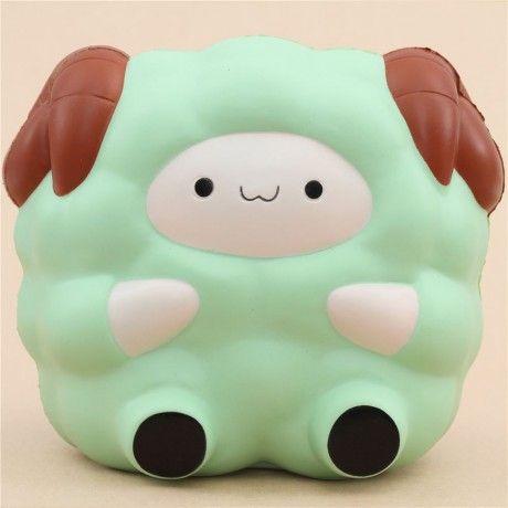 Prenota - squishy pecora verde Jumbo Pop Pop Sheep Pat Pat Zoo kawai