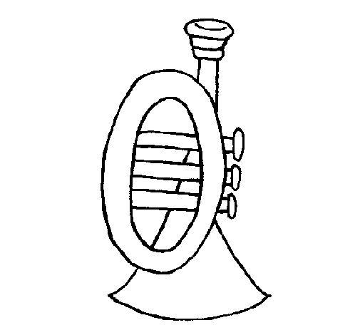 Dibujo de Trompeta para Colorear y Pintar en Línea. En Dibujos.net encontrarás cientos de dibujos para colorear y pintar en línea. ¿A qué estás esperando?