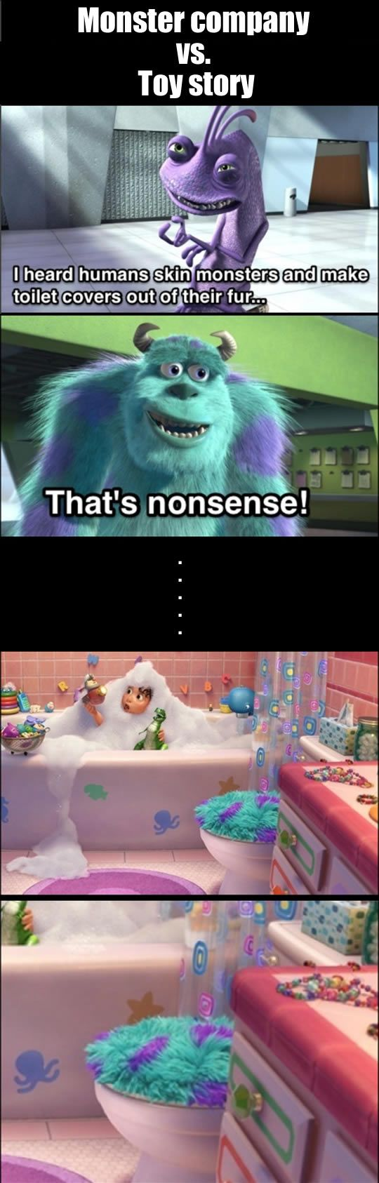 """A hidden message in movie """"Toy story"""""""