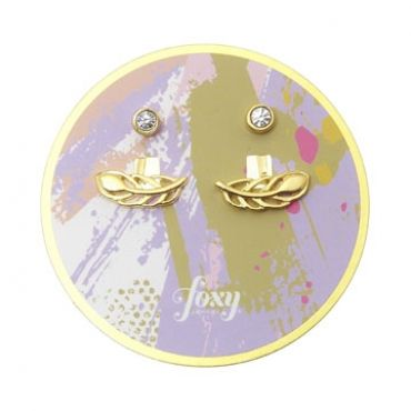 Grenada Earrings in Gold - available in gold and silver.$24.00 Get 25% off these earrings with coupon code 'foxy pin' www.foxyoriginals... #goldjewelry, #goldearrings, #foxyoriginals, #earjackets, #sistergift, #goldearjackets, #jewelrygift, #cutepackaging, #holidaygift, #birthdaygift, #momgift, #goldpackaging, sister gift, jewelry gift, best friend gift, holiday gift, teenager gift, birthday gift, silver jewelry, cute packaging, gold packaging