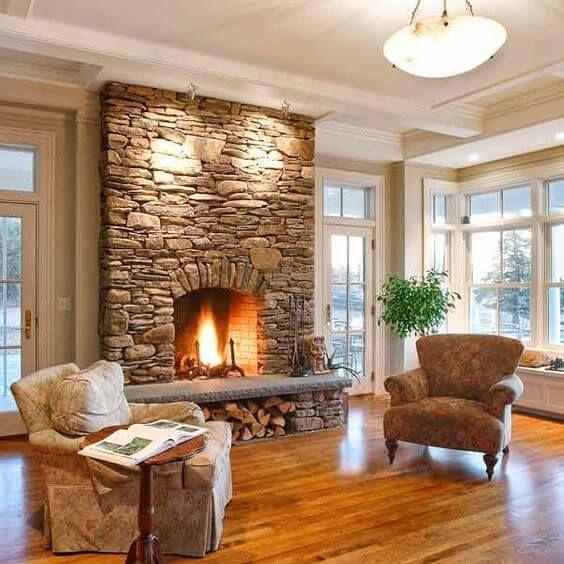 33+ Stunning Fireplace Design Ideas For 2021   Living Room Decor   Huis interieur, Huis ideeën ...