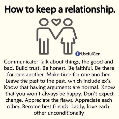 How to keep RELationship ..