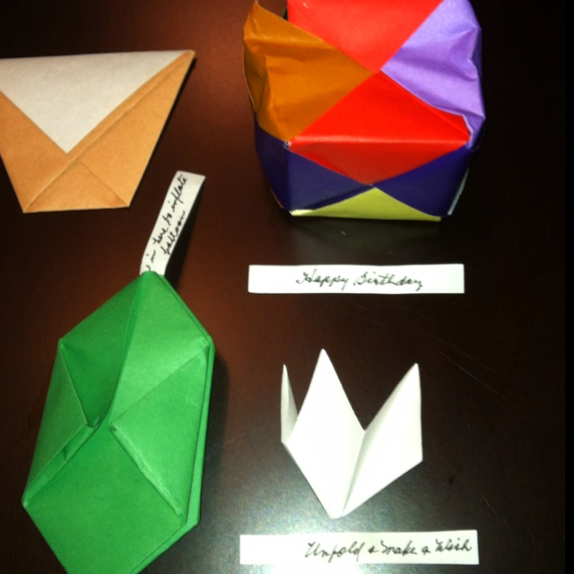 129 best Gift Boxes ~ Origami Cubes images on Pinterest ... - photo#48