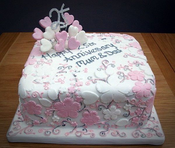 Wedding Anniversary Cake Design Ideas : 1000+ images about Romantic Anniversary Cake Ideas on ...