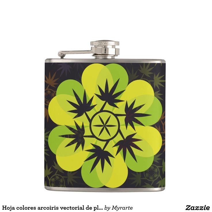 Arcoiris de vectorial planta. Cannabis. #regalo #gifts #BlackFriday