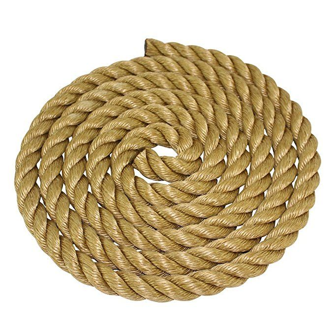 Sgt Knots Twisted Promanila Unmanila Tan Polypro Rope 1 4 5 16 3 8 1 2 5 8 3 4 1 11 4 11 2 2 X Several Lengths 1 How To Make Rope Thick Rope Rope