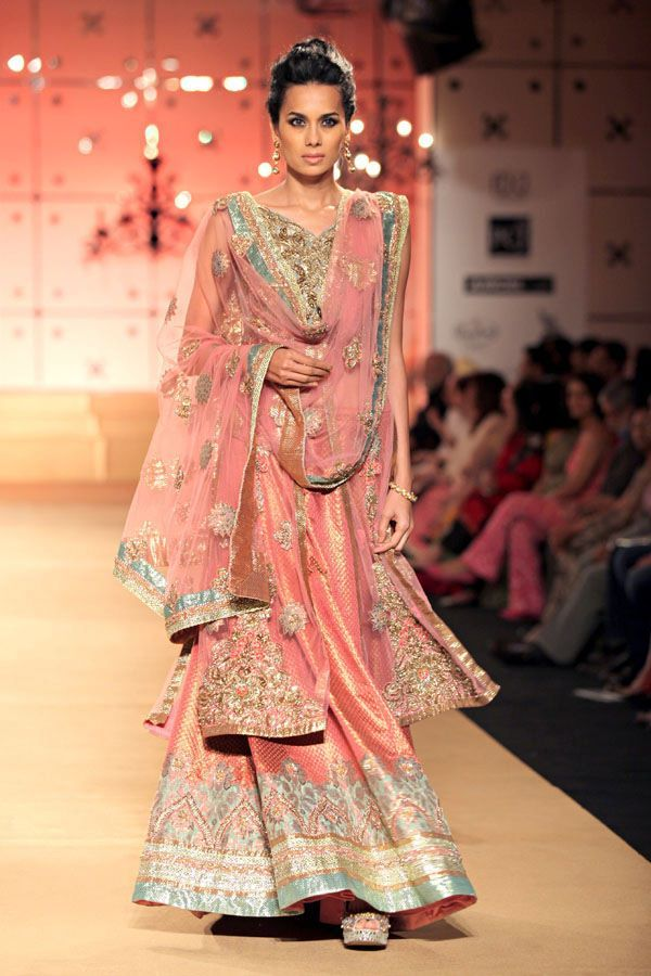 Stunning colors. #Indian #fashion Outfit by: Ashima