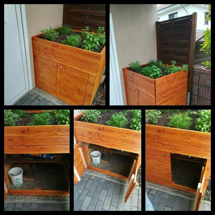Pin Von Fer Auf Jardin Hochbeet Holz Hochbeet Balkon Selber Bauen