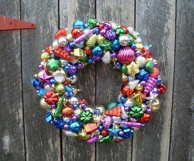 diy ornament wreaths: Christmas Cards, Holidays Ornaments, Christmas Holidays, Facebook Like, Christmas Decor, Christmas Trees, Diy Projects, Ornaments Wreaths, Diy Christmas