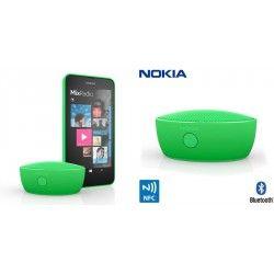 Głośnik BT Nokia MD-12 Green  NO8454ESM Wygoda bez kabli Głośnik Nokia MD-12 obsługuje łączność Bluetooth oraz NFC. Natomiast bateria o długiej żywotności zainstalowana w urządzeniu wystarczy na słuchanie muzyki nawet przez całą noc. Telekonferencje gdziekolwiek jesteś