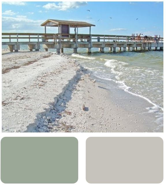 Sherwin Williams Coastal Plain And Realist Beige This Is