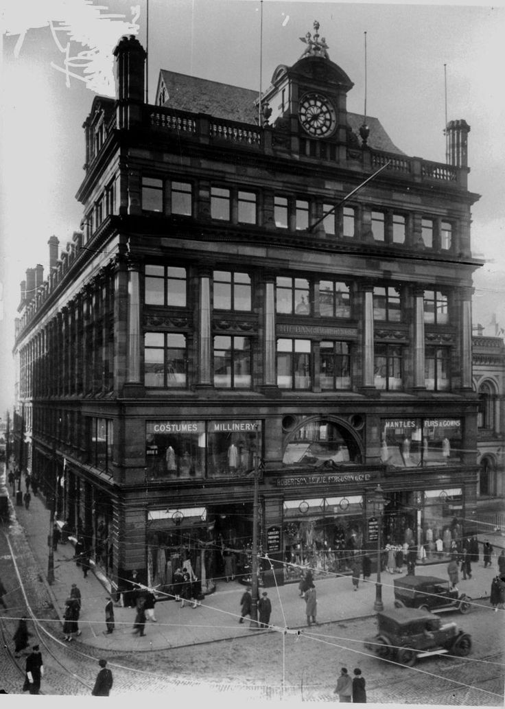 Now Primark, this shows the the famous Bank Building at the top of Castle Place in 1931