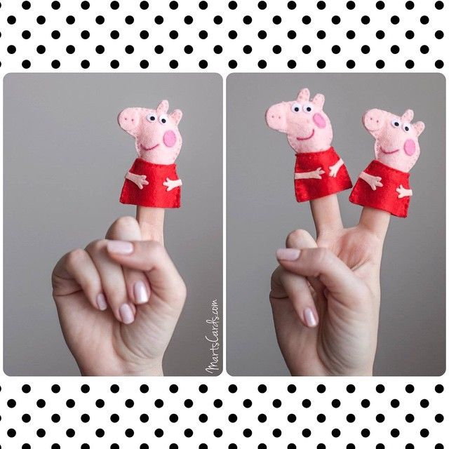 Peppa Pig finger puppet