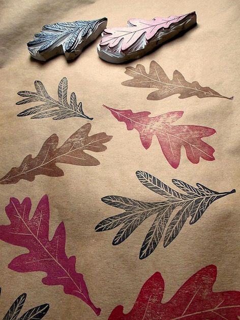 Oak Leaf Stamps