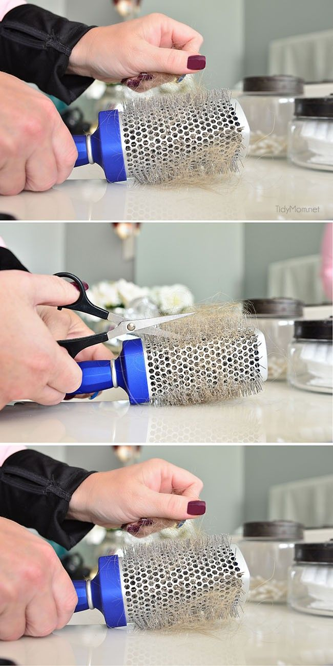 25 Best Clean Hairbrush Ideas On Pinterest How To Clean