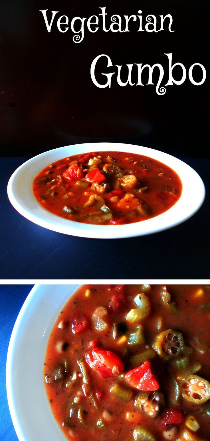 A southern staple made vegetarian style.  Includes Okra and tomatoes.