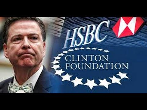 FBI Director James Comey Tied To Clinton Foundation Through Swiss Bank H...
