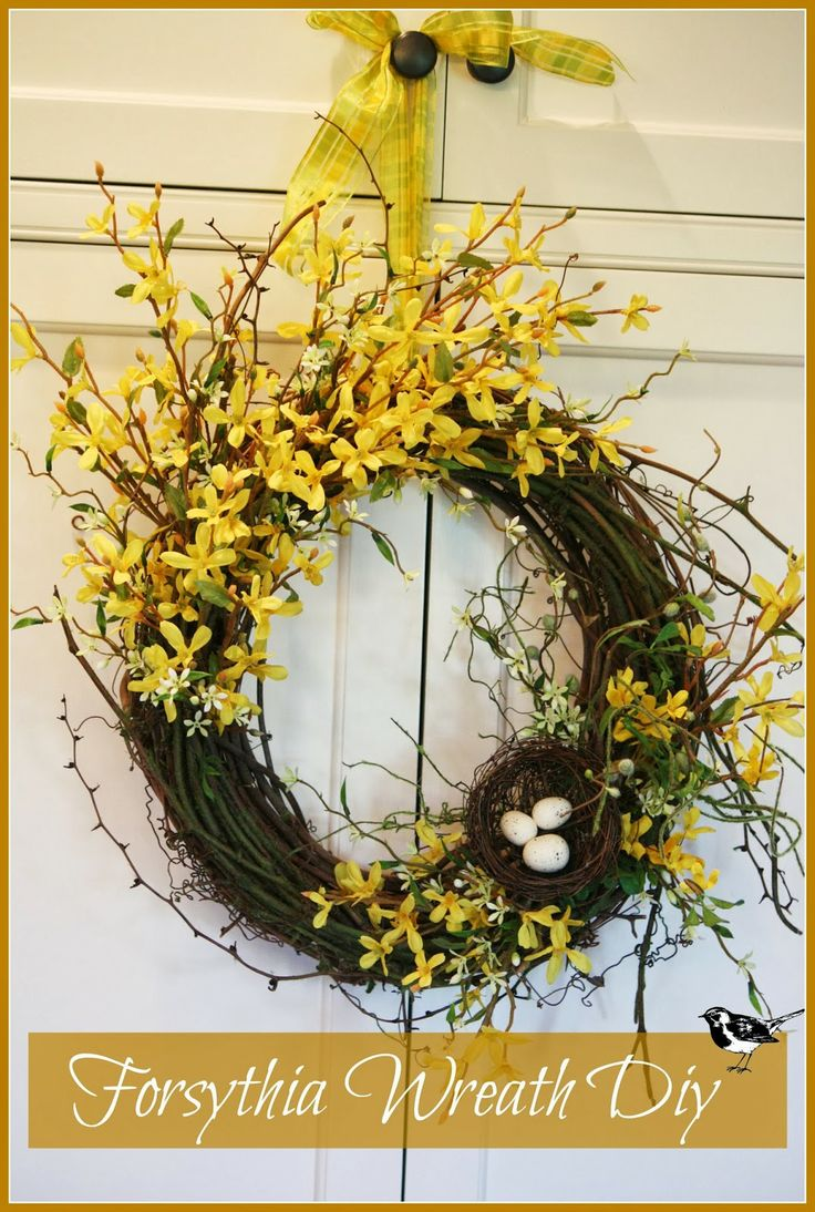 best 25 forsythia wreath ideas on pinterest the frugality