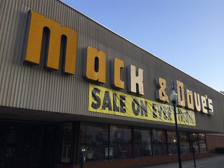 huntington wv landmark business mack daves store set - Halloween Stores In Huntington Wv